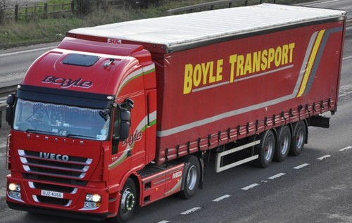 Iveco Stralis with trailer